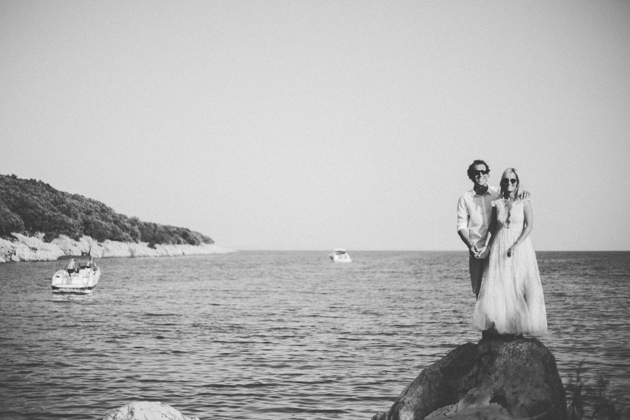 Beach Wedding on Cres Island Croatia Photography & Cinematography 32