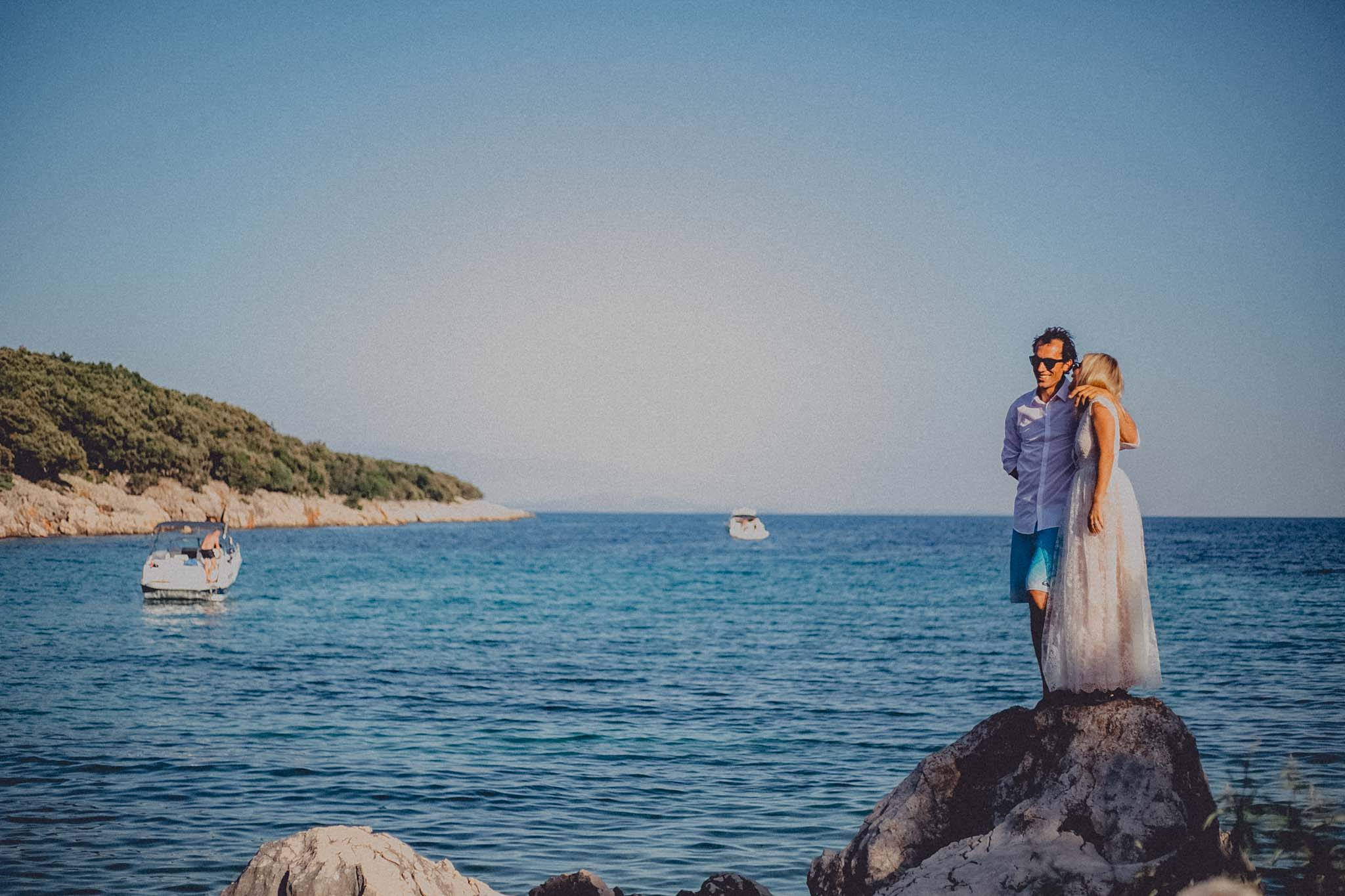 Beach Wedding on Cres Island Croatia Photography & Cinematography 33