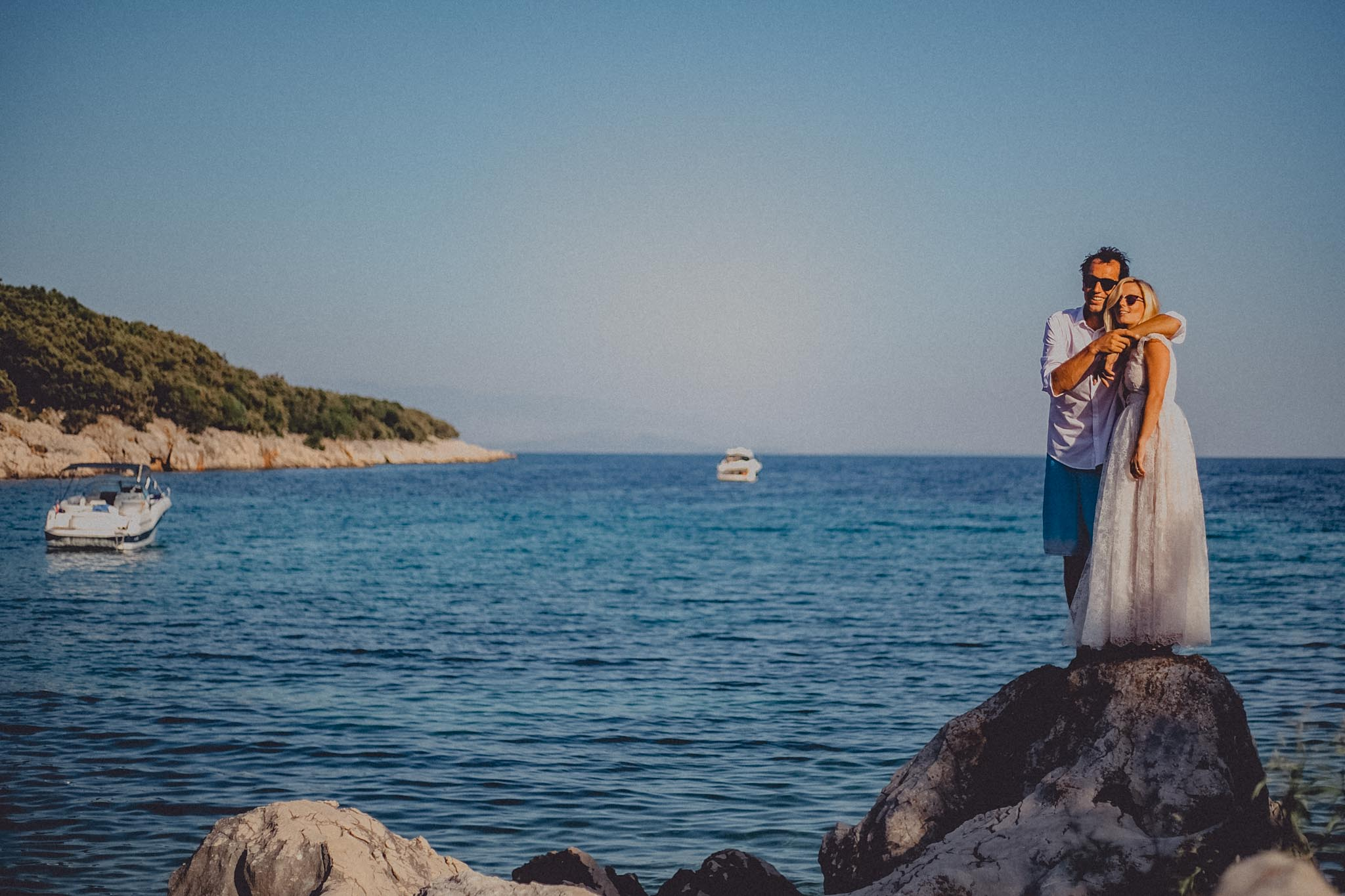 Beach Wedding on Cres Island Croatia Photography & Cinematography 34